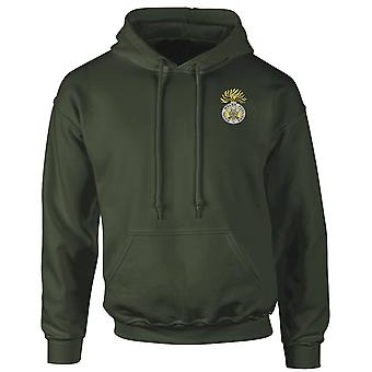 The Royal Welsh Fusliers Embroidered Logo - Official British Army Hoodie