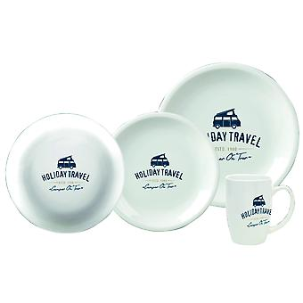 Holiday Travel Biodegradeable 8 Piece Dinner Set