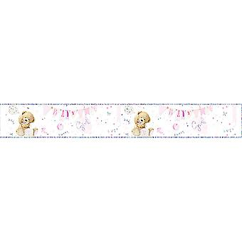 Simon Elvin Baby Boys/Girls Foil Baby Shower Party Banner