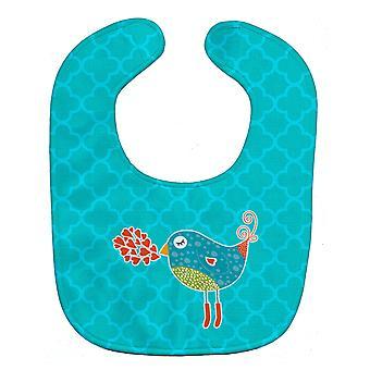 Carolines Treasures  BB6760BIB Birdy Love Baby Bib