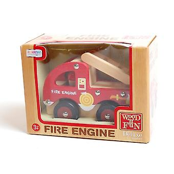 Traditional Wood 'n' Fun Fire Engine