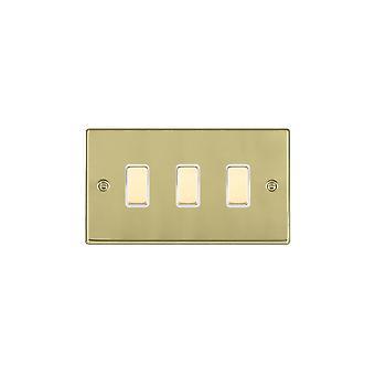 Hamilton Litestat Hartland Polished Brass 3g M-WayTouch Slave PB/WH