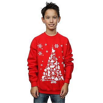Star Wars Boys Christmas Tree Sweatshirt