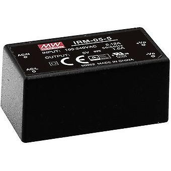 AC/DC PSU (print) Mean Well IRM-05-5 5 Vdc 1 A 5 W