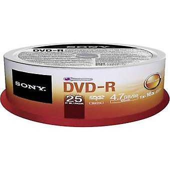 Blank DVD-R 4.7 GB Sony 25DMR47SP 25 pc(s) Spindle