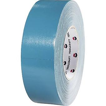 Cloth tape TOOLCRAFT 829B48L25C Blue-grey (L x W) 25 m x 48 mm