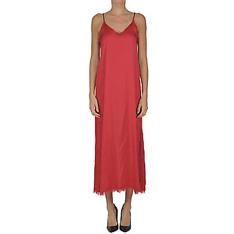 Soallure women's MCGLVS003219E red rayon dress