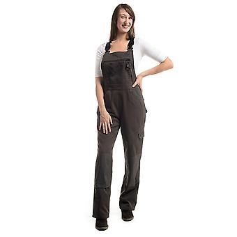 Rosies - Professional Dungarees - Smoke Grey Ladies Work Overalls Workwear