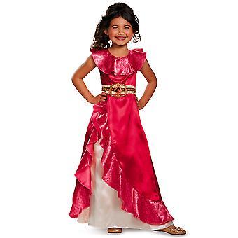 Elena Adventure Classic Princess of Avalor Disney Fancy Dress Up Girls Costume