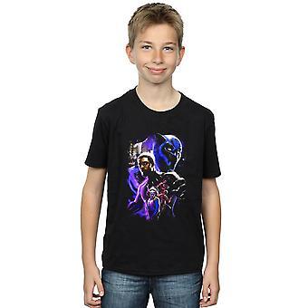 Wonder Boys Black Panther karakter Montage T-Shirt