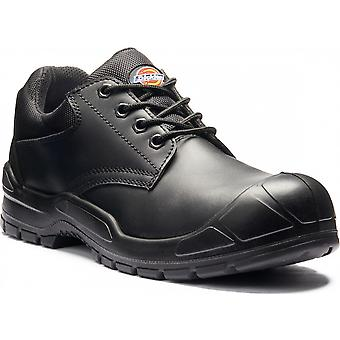 Dickies Mens Trenton Breathable Leather Steel Toe Cap Safety Shoe