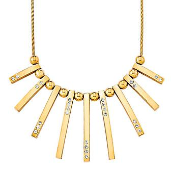 s.Oliver jewel ladies chain necklace silver IP gold SO1162/1 - 9078523