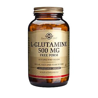 Solgar, L-Glutamine 500 mg Vegetable Capsules, 250
