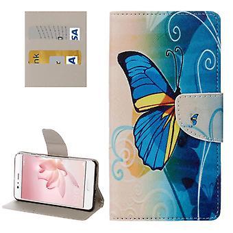 Tasche Wallet Premium Muster 23 für Huawei P10 Hülle Case Cover Etui