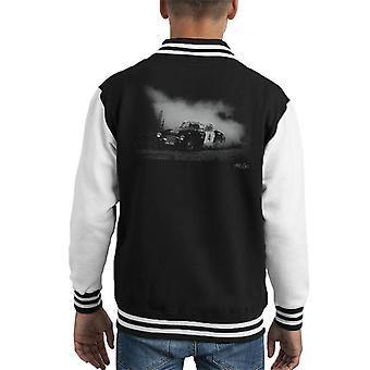 JME Healeys Faded Effect Classic Marathon Kid's Varsity Jacket