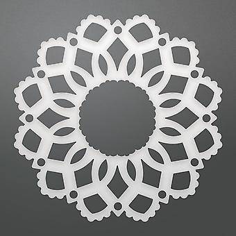 Couture Creations Ornamental Affair Die-Delilah Doily, 2.4
