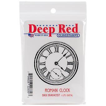 Deep Red Cling Stamp 2
