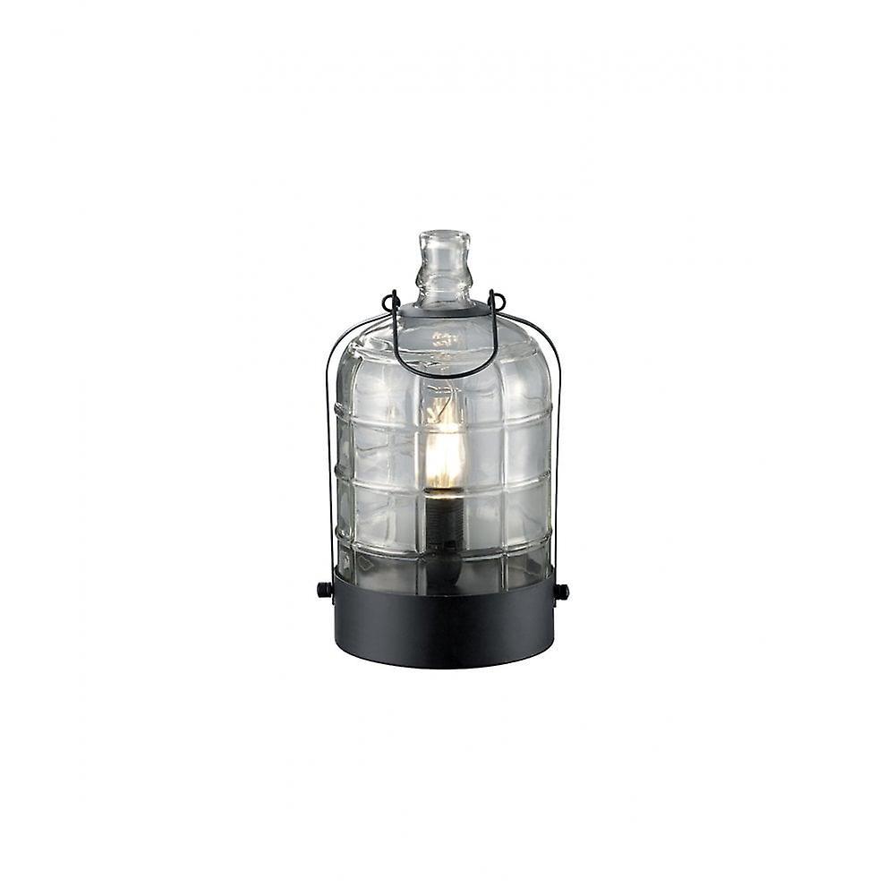 Trio Lighting Astrid Vintage noir Metal Table Lamp