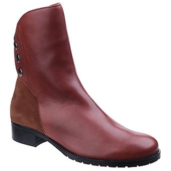 Riva Womens Buttons Ankle Boot