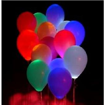 Party Glow Light Up Balloons * 3 pkt only *