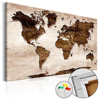 Bild auf Kork - The Brown Earth [Cork Karte]