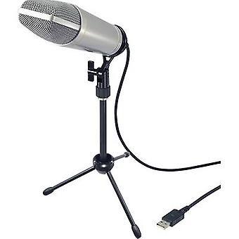 Renkforce USB-S1 USB studio microphone Corded