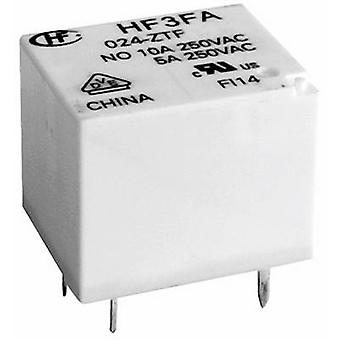 Hongfa HF3FA/005-ZTF PCB relays 5 Vdc 10 A 1 change-over 1 pc(s)