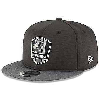 New Era Snapback Cap - Black Sideline Washington Redskins