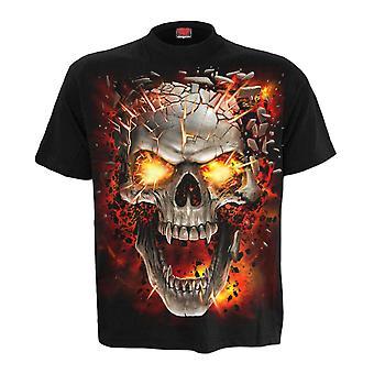 Spiral Skull Blast T-Shirt L