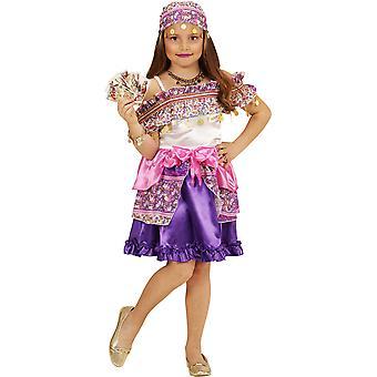 Kinder Kostüme Gipsy Kleid für Mädchen