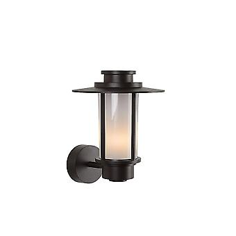 Lucide GOESS Wall Light E27 IP54 H31 W27cm Brown