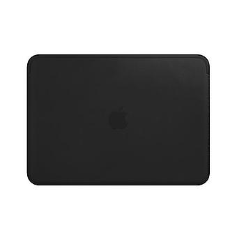 Custodia in pelle Apple per 12? pollici MacBook - nero