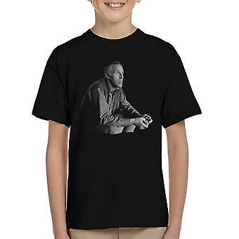 T-shirt TV volte Bruce Forsyth 1967 capretto