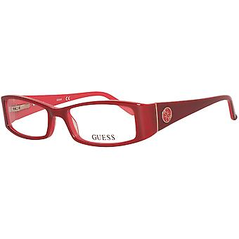 Guess glasses ladies Red