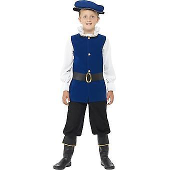 Smiffy в Тудор мальчик костюм