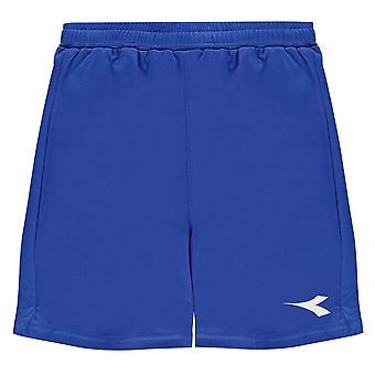 Diadora Kids Boys Houston Football Shorts Junior Lightweight Pants Bottoms