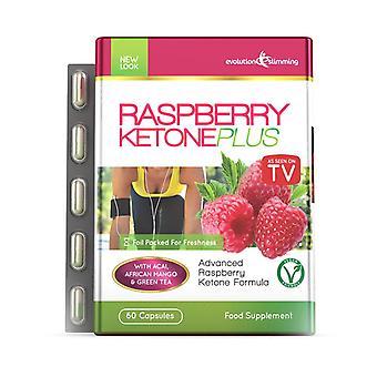 Raspberry Ketone Plus 60 Capsules - 1 Month Supply - Raspberry Ketone - Evolution Slimming PPC