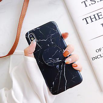 Marble Case With Phone Holder - iPhone XS
