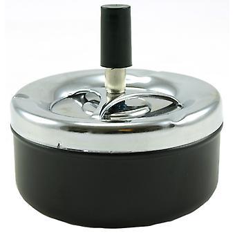 Ashtray swivel metal 11x10cm ashtray