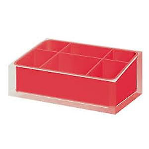 Gedy Rainbow Organiser Red RA00 06