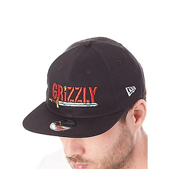 Grizzly Black Adventure Time Collab Snapback Cap