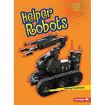 Helper Robots (Lightning Bolt Books Robots Everywhere!)