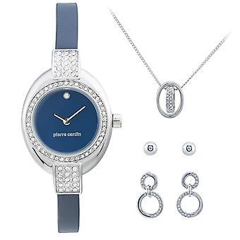 Pierre Cardin Watch PCX6179L263 Gift Set Jewellery