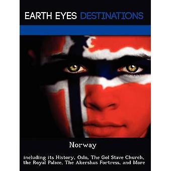 Norge inklusive dess historia Oslo den Gol staven Church Royal Palace The Akershus fästning och mer av Dummel & Elizabeth
