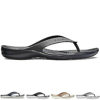 Womens Crocs Swiftwater Flip Lightweight Beach Pool Summer Sea Flip Flop