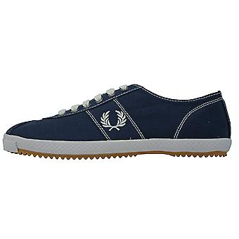 Fred Perry B6309 266 Table Tennis Canvas Trainers