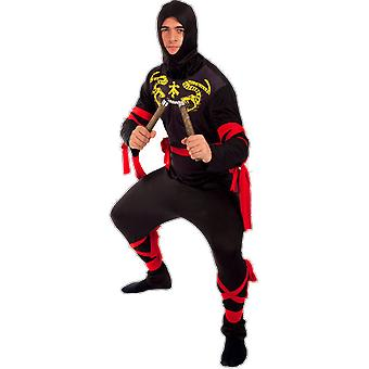 Orion Costumes Mens Ninja Martial Samuri Warrior Arts Fancy Dress Outift