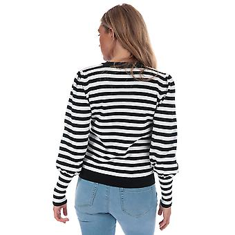 Womens Only Shira Crew Neck Jumper In Black