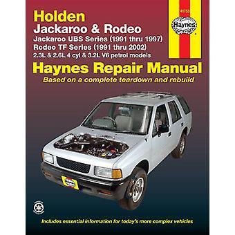 Holden Rodeo & Jackaroo (91 - 02) by Robert Maddox - 9781563926457 Bo