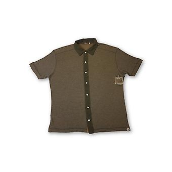 Agave Lux Buckeye polo in brown